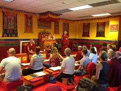 Khenpo David Karma Choephel teaching on the Heart Sutra in 2016