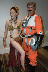 DC31 - 1647 - Day 1 (Photography by J Krolak) Tags: dragoncon31 dragoncon2017 dragoncon day1 cosplay costume masquerade dragon con31 atlanta ga starwars princessleia slaveleia leiasmetalbikini rebelpilot