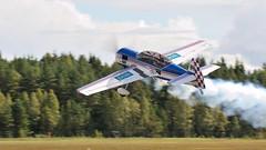 Su-29 (Arndted) Tags: sukhoisu29 sukhoi su29 nordicwarbirdairshow skövde sweden sverige smoke aircraft airshow airplane aviation flygplan flight flying nikon d300s sigma ex100300f4