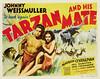 Tarzan and His Mate (1934, USA) - 19 (kocojim) Tags: publishing illustrated kocojim poster johnnyweissmuller maureenosullivan film advertising illustration motionpicture movieposter movie
