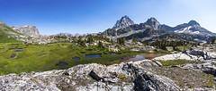 Alpine Panorama (isaac.borrego) Tags: uploadedviaflickrqcom mountain peak alpine alaskabasin grandteton nationalpark wyoming canonrebelt4i jacksonhole mountains unitedstates america