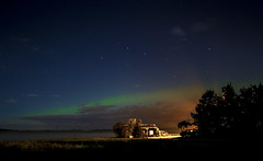 Northern Lights (Danny VB) Tags: northern lights northernlights aurora borealis auroraborealis été terrebonne assomption quebec canada canon 7d summer étoiles ciel nuit night dannyboy