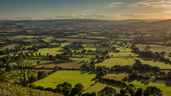 The evening is falling in the Valley between the Long Mynd and Stiperstones (Ramireziblog) Tags: evening falling stiperstones valley the long mynd vallei avond canon 6d landscape lanschap shropshire