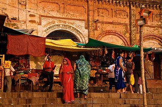 Colourful and warm Benares  - India