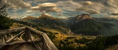 Point of view (rinogas) Tags: italy piemonte sestriere monterotta sunset evening cloud alpicozie vallesusa rinogas