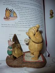 #Mirror Mirror (Martellotower) Tags: flickrfriday mirror winnie the pooh piglet bear