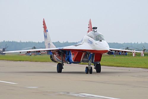 Mikoyan-Gurevich MiG-29UB '02 blue'