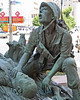 HILL 881 SOUTH (Flagman00) Tags: hill881south sanantoniotx bronze sculpture usmc marines marinecorps battle austindeuel fallen comrade buddy
