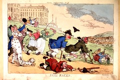 "Bath Races (National Library of Medicine - History of Medicine) Tags: gout ""welldressed"" ill walk run stumble ""royalcrescentinbath ""bathcrutcheswheelchairdoghillcaricaturesetching""thenationallibraryofmedicine""ihmimagesfromthehistoryofmedicine freeonlineresource""visualmedia"" fineart ""digitalcollections"" ""biomedicalresources books videos maps"