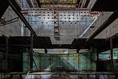 Sat Within the Reactor Core - Chernobyl Reactors 5 and 6 (Craig Hannah) Tags: chernobyl powerstation chernobylnuclearpowerstation reactorcore longexposure lightpainting light zoneofalienation exclusionzone exploring construction reactor5 unfinished building 30kilometrezone accident nucleardisaster radioactivecontamination radiation craighannah september 2017 abandoned derelict decay disused disaster nuclearreactorcore