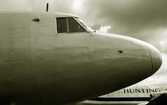 Big Boots (crusader752) Tags: vickers viking brooklands monochrome airliner