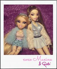 Reunited & It Feels So Good (Bratzjaderox™) Tags: chanel scream queens doll bratz myscene barbie obitsu volks diva maxine powers gabi gabriella galaxy custom ooak reroot