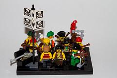 AH62_9107 (der_andyrandy) Tags: lego legominifigs warhammer moc minifig canoneos7d piraten