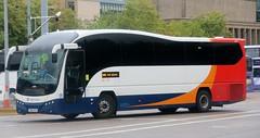 Stagecoach Fife 53701 OU10GYH leaves Glasgow Buchanan for the Kingdom with an X26 service. (Gobbiner) Tags: stagecoach elite 53701 fife glasgow ou10gyh oxford plaxton b9r eastkent volvo