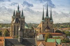 Dom St. Marien und Severikirche (hph46) Tags: erfurt deutschland germany thüringen stadt kirche dom sony alpha7r canonef7020014lisusm