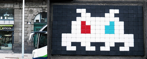 Space invader [Clermont-Ferrand, France]