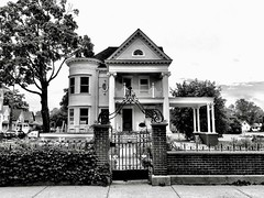 Plymouth, Michigan (Dennis Sparks) Tags: blackwhite michigan plymouth home iphone