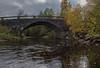 Norwegian nature (steffos1986) Tags: river bridge water flowing stream stone autumn color norwegian landscape nature explore sunset scandinavia europe scenery view norwegen noruega nikond5500 afsnikkor1855vr sun light shadows reflections