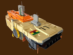 BSL Marcus Garvey: Thrust (Keith Goldman) Tags: ship shiptemberv space lego marcusgarvey ghana blackstarline goat