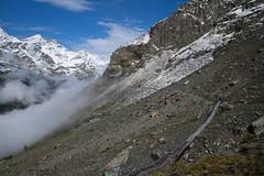 the Beauty of the Alps (Toni_V) Tags: m2404954 rangefinder digitalrangefinder messsucher leica leicam mp typ240 type240 28mm elmaritm12828asph hiking wanderung randonnée escursione alps alpen europaweg suspensionbridge hängebrücke grächenzermatt wallis oberwallis valais trail wanderweg landscape mountains switzerland schweiz suisse svizzera svizra europe randa summer sommer ©toniv 2017 170812