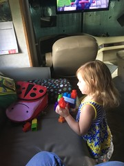 c2017 August 17, Ava Grace Playing iPhone 6s (King Kong 911) Tags: blocks rockingchair playing avagrace rockinchair toys fun