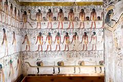 KV17, The Tomb of Seti I, Pillared chamber F (kairoinfo4u) Tags: egypt luxorwestbank valleyofthekings eastvalley thebeswestbank thebes tombofsetyi kv17 setyi égypte egitto egipto unescoworldheritagesites ägypten luxor sethosi setii bookofgates tombofsetii