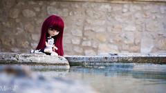 Mirror~ (MintyP.) Tags: pullip doll groove poupée merl whispering island elwyna obitsu s wig titadoremi animal eyes photography water sony nex 6 sonynex minty mintyp