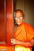 The Monk (Laurent BASTIDE Photographies) Tags: monk srilanka portrait red orange colors yellow door focus fine art finart fineart