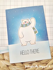 hello there MFT card detail (fridayfinally) Tags: myfavoritethings polarbearspals copicmarkers copic copics dienamicsicebergs distressink campcreate bears ice winter winterscene winterseason fishes skating scarf critters cutebackground cute clearstamps crittersparty celebrate cleanandsimplecard cardmaking coloring card cutescene love lovely lawnfawnplaidpaper thinkingofyou hellocard hello lightblue loveyoucard whitegelpen blue white polonord orsetto