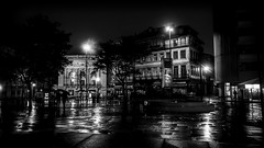 Songe d'une nuit... d'hiver ! (Fred&rique) Tags: lumixfz1000 raw photoshop nb ville portugal porto nuit architecture