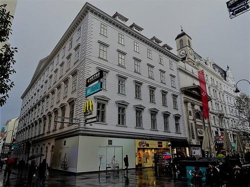 Wien, 1. Bezirk (the art of listed buildings in the core of downtown Vienna), Johannesgasse/Kärntner Straße (Johanneshof/Kommendehaus des Malteser Ritterordens/Malteserkirche Heiliger Johannes der Täufer)