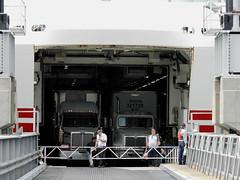 The Grand Manan Adventure ferry docked at North Head on Grand Manan Island (Bay of Fundy), New Brunswick (Ullysses) Tags: grandmananadventure ferry traversier northhead harbour grandmananisland bayoffundy newbrunswick canada summer été imo9558103