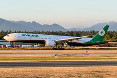 CYVR - EVA Air B777-300 B-16732 (CKwok Photography) Tags: yvr cyvr evaair b777 b16732