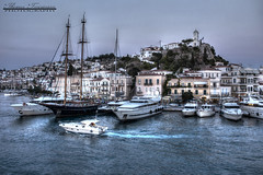 A view of Poros' port (theseustroizinian) Tags: hellas hellenic greece greek peloponnese canoneos700d canon ngs hdr hdraward poros seascape simplysuperb s
