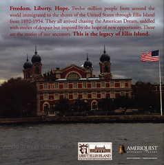 Images of Ellis Island, Gateway to Opportunity - Limited Edition; 2012_3, New York, Jersey City, USA (World Travel Library - The Collection) Tags: ellisisland museum 2012 museumofimmigration historical architecture building newyork jerseycity usa america world travel library center worldtravellib collection holidays tourism trip vacation brochures brochure papers prospekt catalogue katalog photos photo photography picture image collectible collectors sammlung recueil collezione assortimento colección ads online gallery galeria touristik touristische broschyr esite catálogo folheto folleto брошюра broşür documents dokument limitededition