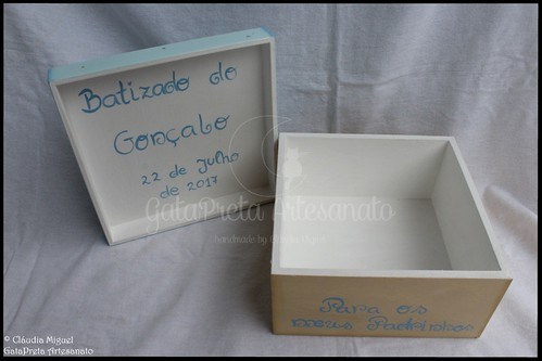 """Caixa de lembrança para padrinhos """"Mundo do Principezinho"""""""