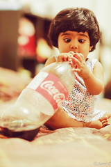 coke-compulsion (Samir D) Tags: jianna samird daughter child children baby cocacola attention concentration expression busy vancouver vancity vancitybuzz vans northamerica night nightshot nightimage bc britishcolumbia 604 604now 2017 kerrisdale home