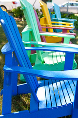 Colourful chairs! (J.R. Rondeau) Tags: rondeau windsor ontario essexcounty colors colours loungechairs chairs canoneos tamron2875 photoshopelements10