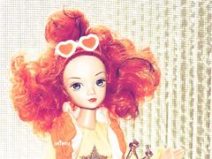 Esme (Softness) Tags: asiandoll cute chinesedoll curlyhair doll fashiondoll kurhn orangehair