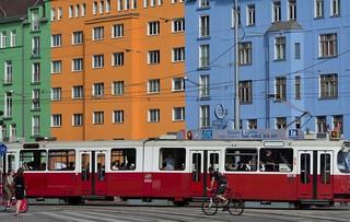 Wien, Häuserzeile
