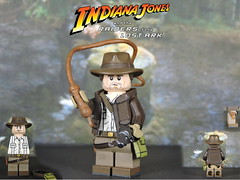 Custom Lego Raiders of the Lost Ark: Indiana Jones (Will HR) Tags: lego indianajones raidersofthelostark custom