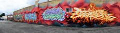 quickage-DSC_0460-DSC_0465 v2 (collations) Tags: ontario toronto graffiti kwest kane ren bacon