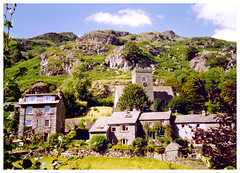 Langdale Valley, Cumbria. (Paris-Roubaix) Tags: cumbria english lake district langdale valley chapel stile national park