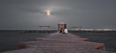 Luz de Luna. (lgonzalez_l Luis González) Tags: españa spain murcia marmenor santiagodelaribera lunallena noche nigth nikon