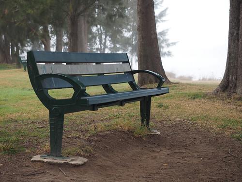 Somewhere, A Bench