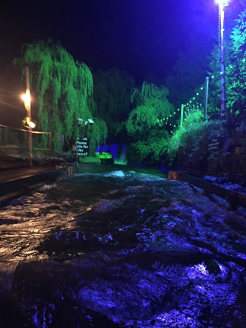 Congo River Rapids at Scarefest - 2016