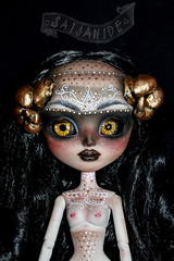 Medina (saijanide) Tags: doll nudity pullip taeyang custom ooak artist faceup repaint customized monster horns demon saijanide art dolls jun planning