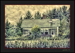 Abandoned School  Michigan Thumb (the Gallopping Geezer '5.0' million + views....) Tags: building structure school schoolhouse oneroomschool 1room oneroom historic old abandoned weathered decay decayed worn faded derelict rural country countryside mi michigan thumb canon 5d3 24105 geezer 2016