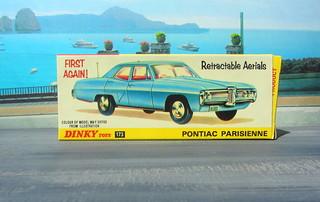 Dinky Toys Pontiac Parisienne No. 173 1969 : Diorama PS2 GT4 Computer Game Backdrop Costa di Amalfi - 1 Of 16