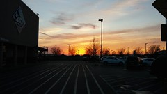Sunset at Sam's (Retail Retell) Tags: sams club southaven ms desoto county retail membership warehouse store
